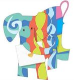 Special Delivery: 3D Cards - Jazz Elephant