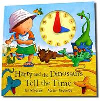 Harry and the Dinosaurs Tell the Time by Ian Whybrow image