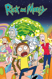 Rick And Morty: Maxi Poster - Group (492)