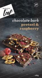 Loaf: Pretzel & Raspberry Chocolate Bar (180g)
