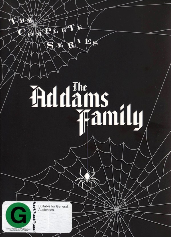 The Addams Family (1964) - The Complete Series (9 Disc Set) on DVD image