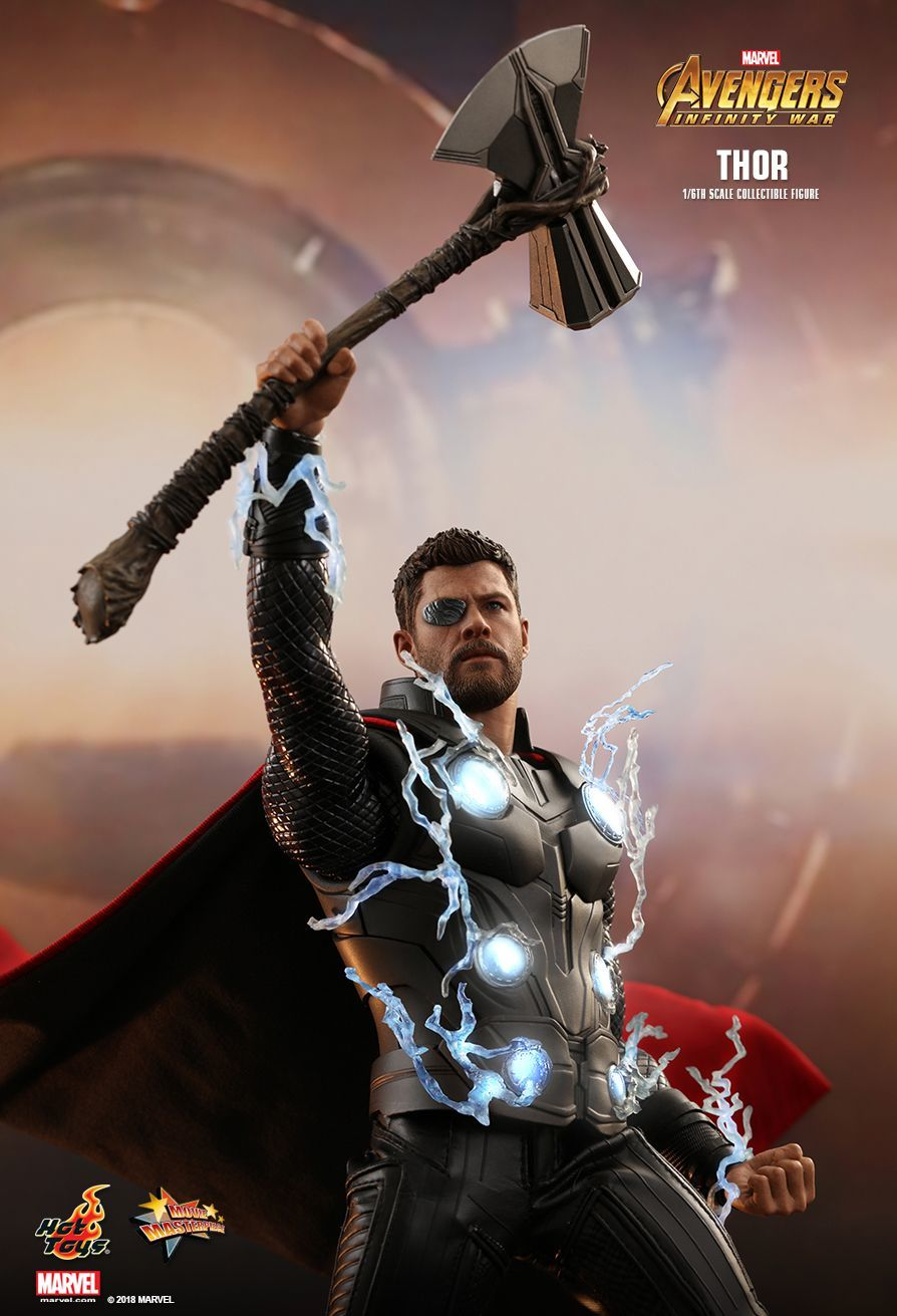 Avengers Infinity War Thor 12 Articulated Figure Images At