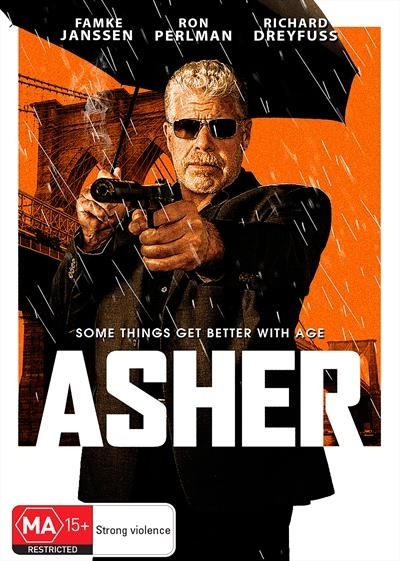 Asher on DVD image