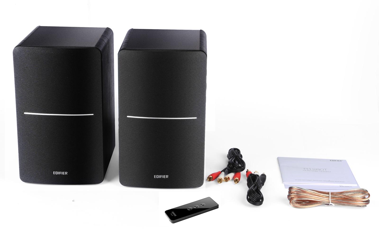Edifier R1280T 2.0 Lifestyle Speakers (Black) image
