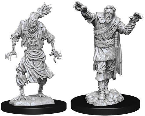 D&D Nolzur's Marvelous: Unpainted Miniatures - Scarecrow & Stone Cursed