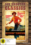 Decision At Sundown (Six Shooter Classics) DVD