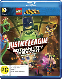 LEGO DC Comics Super Heroes: Gotham Breakout BR on Blu-ray