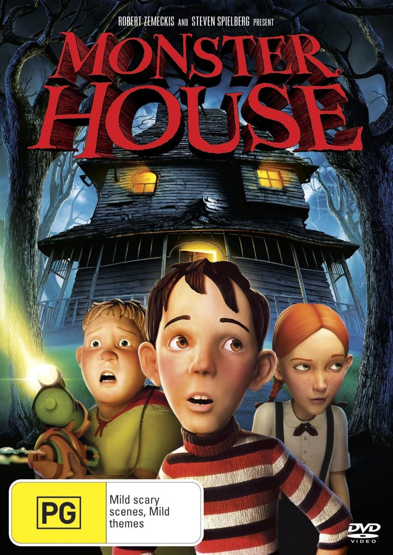 Monster House on DVD image