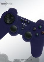 Powerwave PlayStation 2 Controller (Blue) for PS2