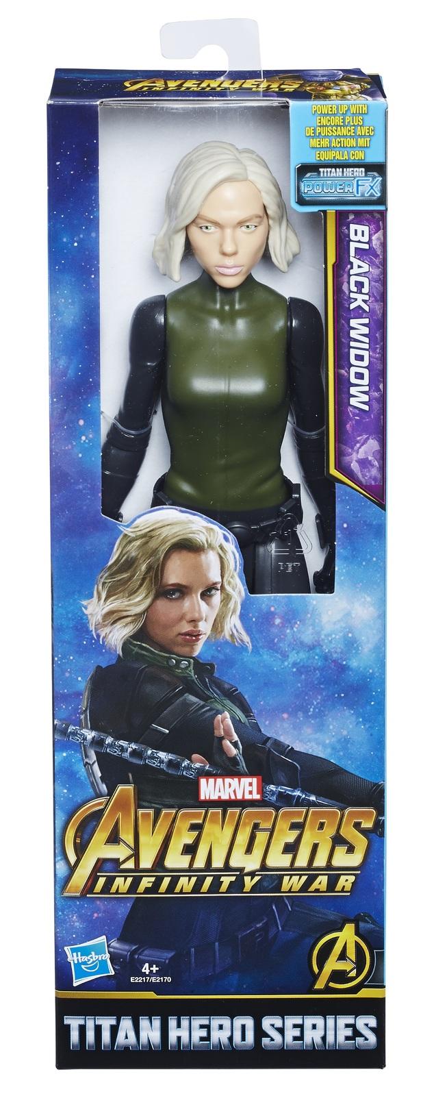 "Avengers Infinity War: Black Widow - 12"" Titan Hero Figure image"