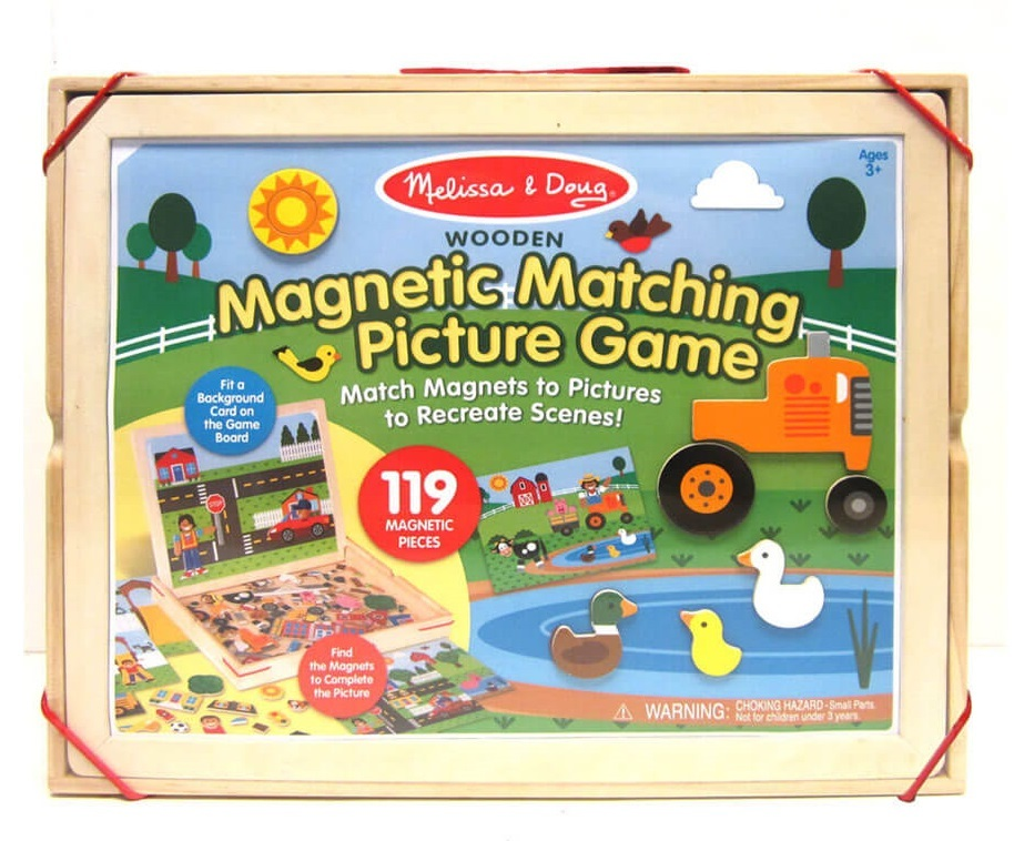 Melissa & Doug - Magnetic Matching Picture Game image