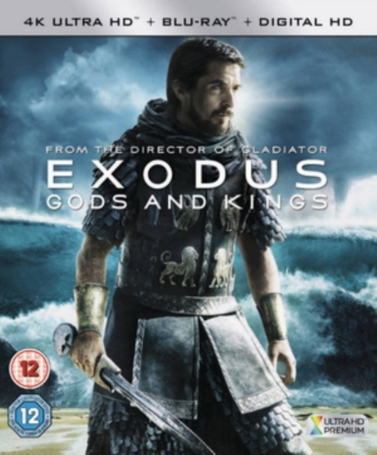 Exodus - Gods and Kings on UHD Blu-ray