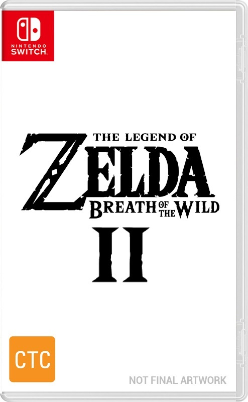 The Legend of Zelda Breath of the Wild 2 for Switch