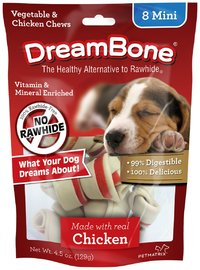 Dreambone Dog Treats 8's Mini Chicken 128g