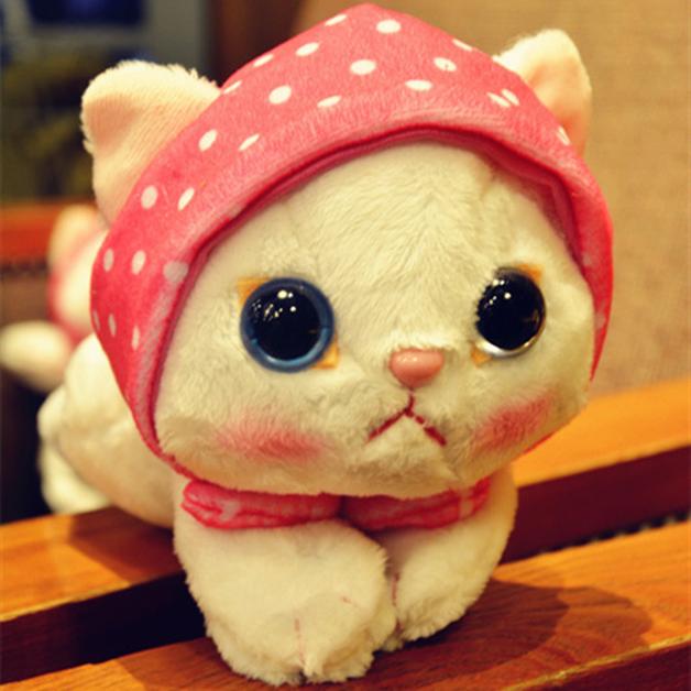 Cat with Scarf Plush (25cm)