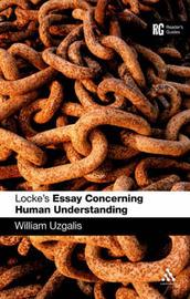 Locke's Essay Concerning Human Understanding by Bill Uzgalis image