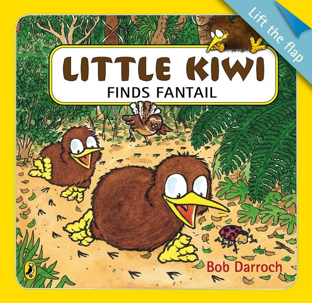 Little Kiwi Finds Fantail by Bob Darroch