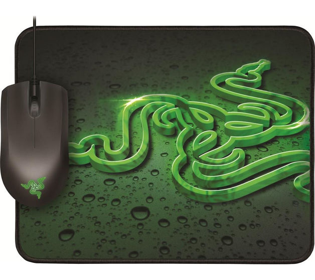 Razer Abyssus Gaming Mouse + Goliathus Mouse Mat
