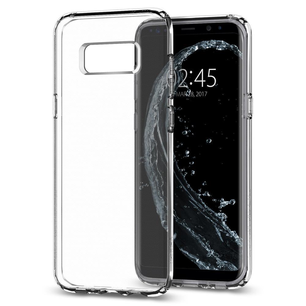 Spigen: Galaxy S8 Plus - Liquid Crystal Case (Crystal Clear) image