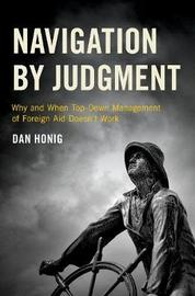 Navigation by Judgment by Dan Honig