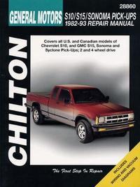 Chevrolet S10/S15/Sonoma Pick-Ups (82 - 93) by Chilton Automotive Books image