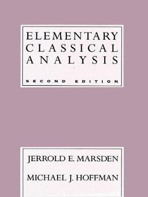 Elementary Classical Analysis by Jerrold E. Marsden image