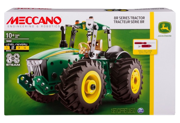 Meccano: John Deere 8R Tractor - Model Kit