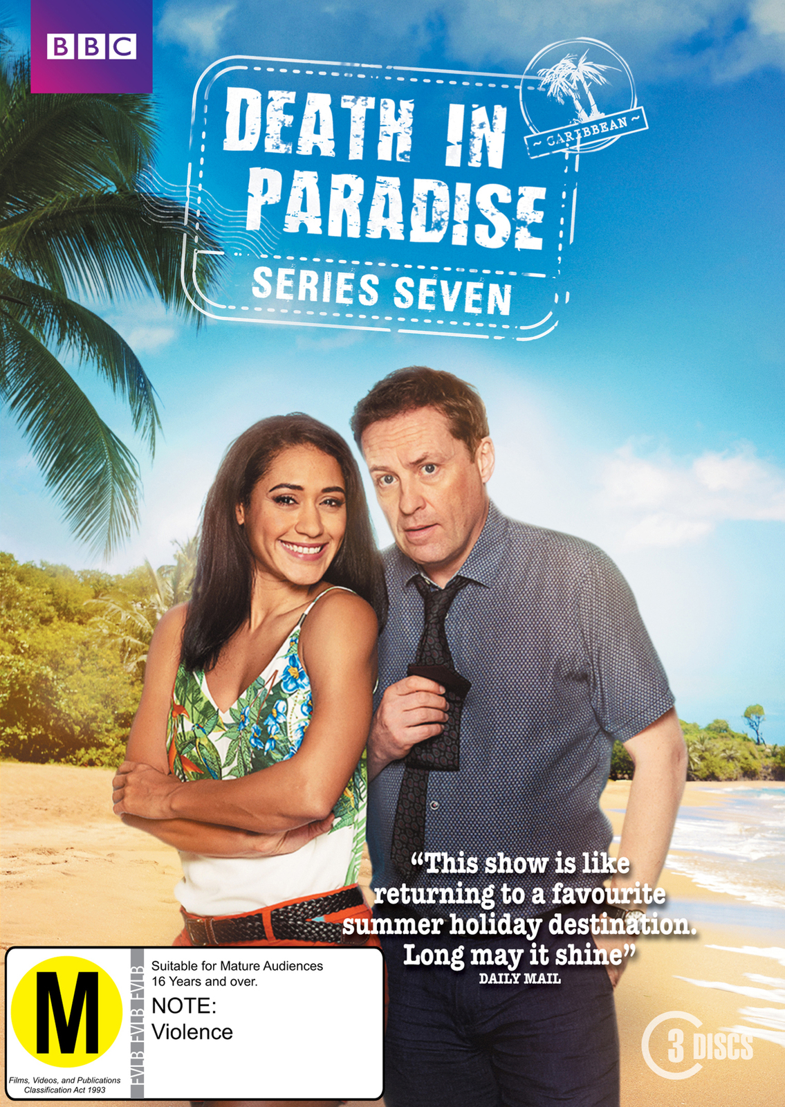 Death in Paradise: Season 7 on DVD image