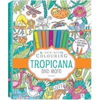 Kaleidoscope: Colouring Kit - Tropicana and More