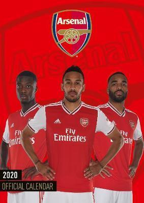 Official Arsenal 2020 A3 Wall Calendar
