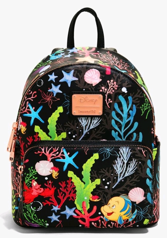 Loungefly: Disney the Little Mermaid Under the Sea Backpack