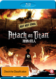 Attack on Titan - Collection 1 on Blu-ray