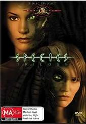 Species Trilogy (3 Disc) on DVD