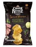 Copper Kettle Chips: Special Reserve - Wagyu Beef & Wasabi Cream (150g)