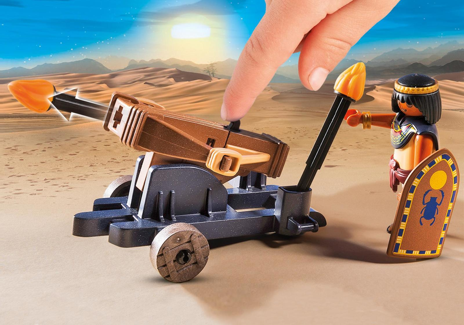 Playmobil: History - Egyptian Troop with Ballista image