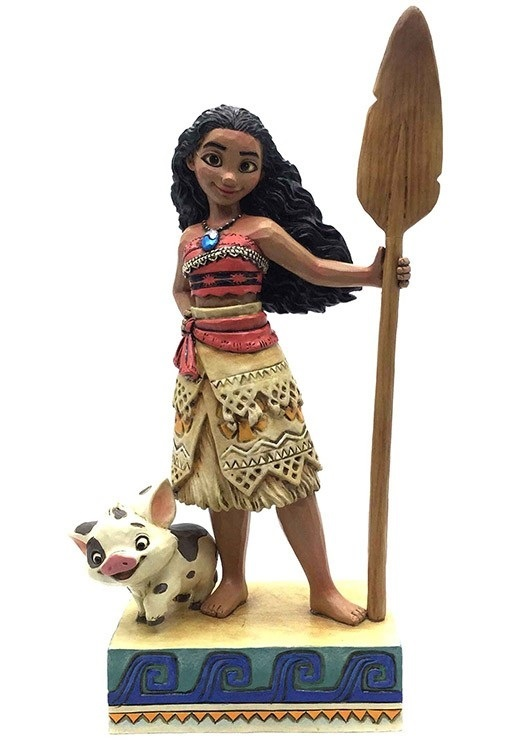 """Disney Traditions: Moana (Find Your Own Way) - 7.5"""" Statue image"""