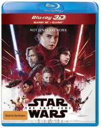 Star Wars: Episode VIII - The Last Jedi on 3D Blu-ray