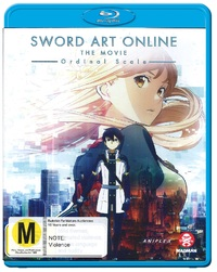 Sword Art Online: The Movie - Ordinal Scale on Blu-ray