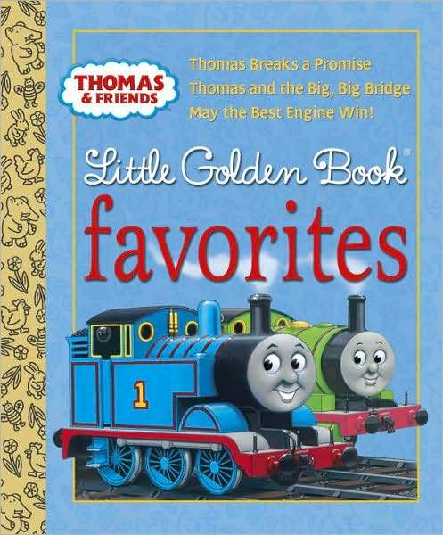 Thomas & Friends Little Golden Book Favorites by Various ~ image