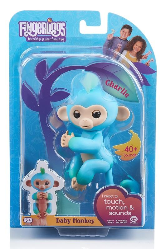 Fingerlings: Interactive Baby Monkey - Charlie