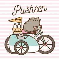 Pusheen 2019 Square Wall Calendar