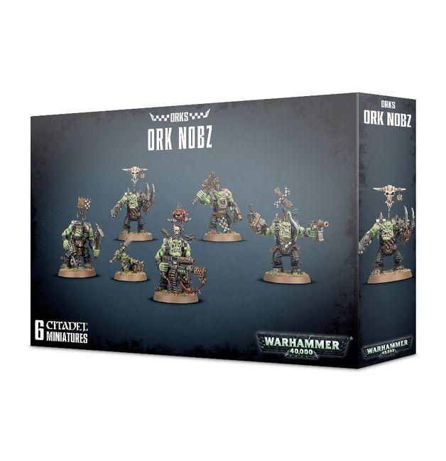 Warhammer 40,000 Ork Nobz