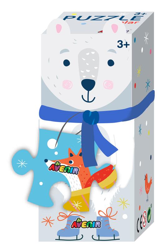 Avenir: 28-Piece Puzzle Gift Box - Polar Bear
