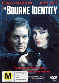 The Bourne Identity on DVD image