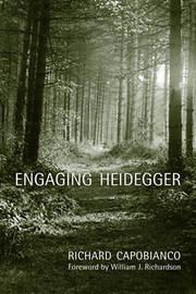 Engaging Heidegger by Richard Capobianco image