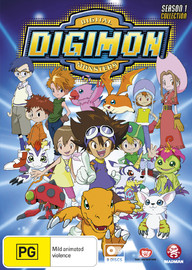 Digimon Digital Monsters - Season 1 Collection on DVD