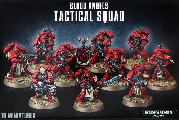 Warhammer 40,000 Blood Angels Tactical Squad