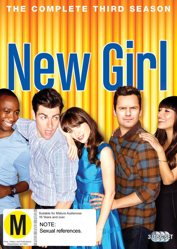 New Girl - The Complete Third Season on DVD