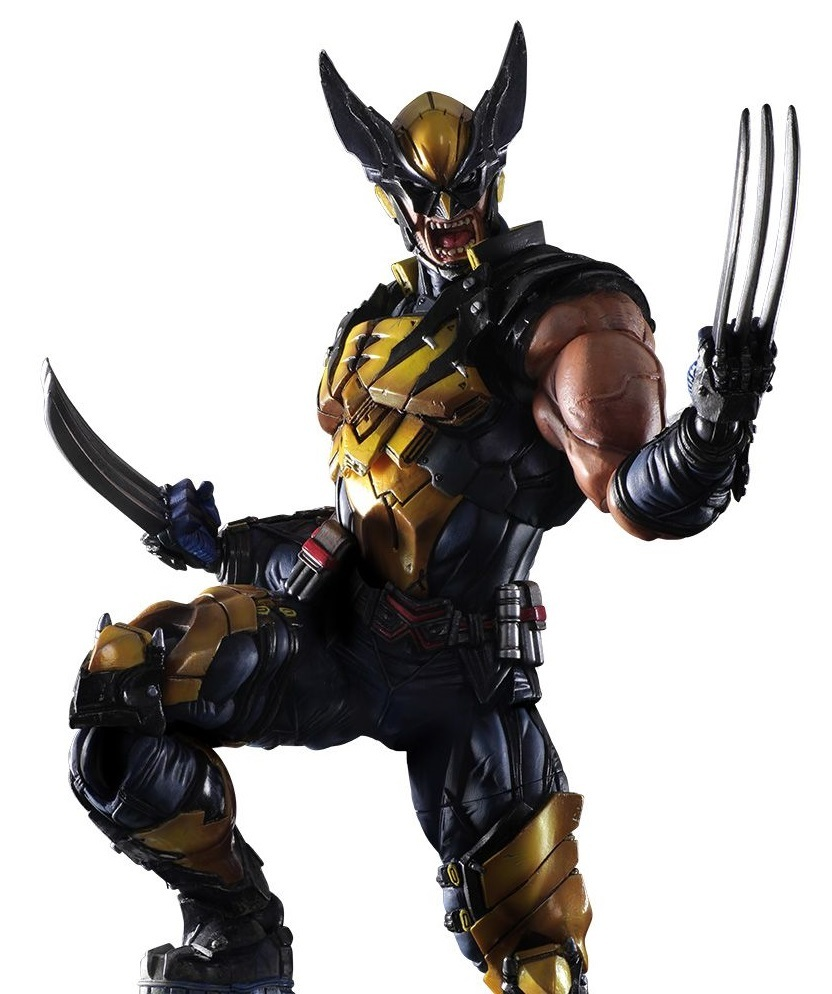 Marvel Universe: Wolverine - Variant Play Arts Kai Figure image