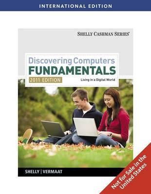 Discovering Computers - Fundamentals by Gary B Shelly image